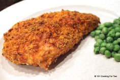 Baked Parmesan Paprika Skinless Boneless Chicken Breast  from 101 Cooking For Two