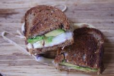 Mexi grilled cheese with avocado and pepperjack #comfortfoodfeast