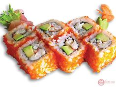 """Роллы Калифорния https://www.fcw.su/blogs/kulinarnye-yeksperimenty/roly-kalifornija.html  Поклонники японской кухни очень любят роллы """"Калифорния"""". При желании их можно приготовить и самостоятельно."""