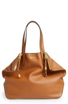 Michael Kors 'Large Miranda' Leather Shopper available at #Nordstrom