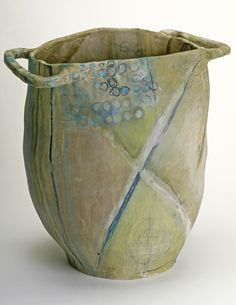 stoneware~ Brenda Holzke  http://www.brendaholzke.com/gallery/indigenous-baskets/
