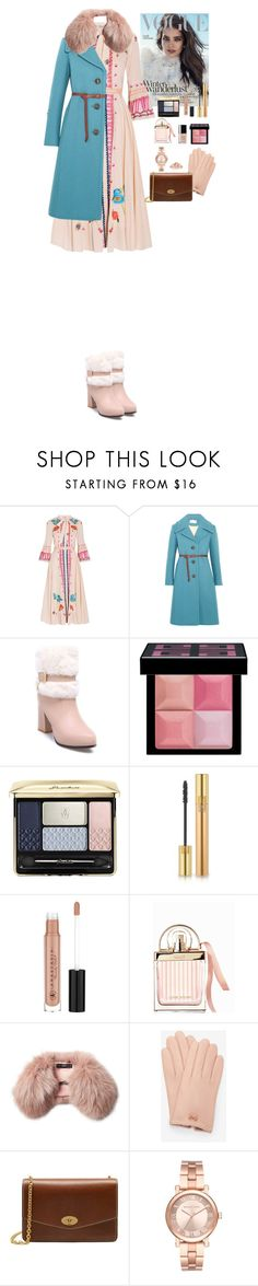 """""""Winter outfit"""" by eliza-redkina ❤ liked on Polyvore featuring Temperley London, Chloé, Givenchy, Guerlain, Yves Saint Laurent, Anastasia Beverly Hills, Steffen Schraut, Ted Baker, Mulberry and Michael Kors"""