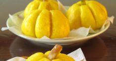 Steamed Pumpkin buns with Lotus paste filling 南瓜小包子 Pumpkin Buns Recipe, Steam Pumpkin, Bun Recipe, Menu, Canning, Simple, Recipes, Food, Menu Board Design