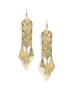 The Diamond Dangle Earrings by JewelMint.com, $29.99