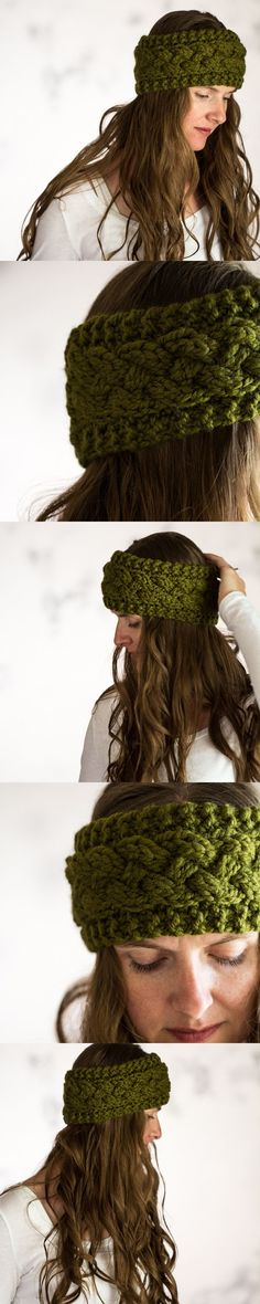 PERSISTENCE : Headband Knitting Pattern by Brome Fields