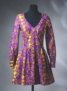 Mini dress, Barbara Hulanicki, 1967. I had this exact same dress bought in Biba, Kensington Church Street!