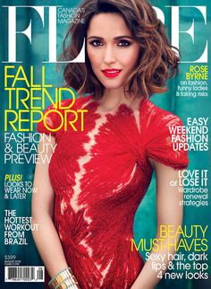 Rose Byrne is Pure Elegance in Flare's August Cover Shoot by Max Abadian Rose Byrne Hair, Mary Rose Byrne, Celebrity Bobs, Celebrity Hairstyles, Bob Hairstyles, Christopher Kane, Marc Jacobs, Marie Antoinette, Vestidos