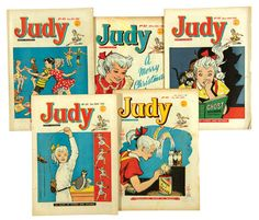 Judy.  My cousin and I used to trade off - my Bunty comic for her Judy comic.  Didn't see her too often so there was always a bunch of comics to be read at once.  Heaven!