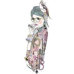 Nadia Flower illustrations