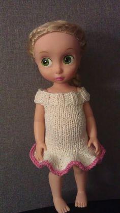 Prinsessa Pieni seikkailee käsityömaailmassa: Tähkäpään rimpsumekko ♥ patroon