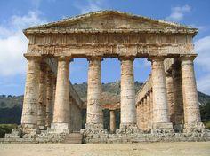 Segesta Temple, Trapani, Sicily, Italy