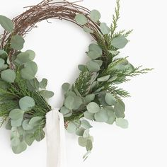 Fresh Cedar and Eucalyptus Wreath