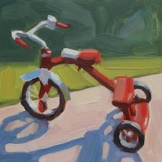 Tricycle by Michael Chamberlain  I had one of these when I was little!