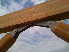 cool steel columns - Google Search / Domos Geodesicos y sus Nudos