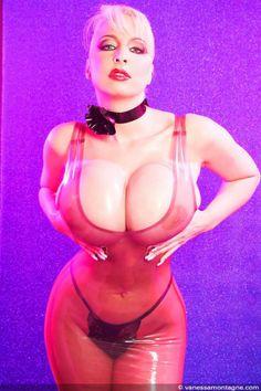 Tits big latex Latex boobs,