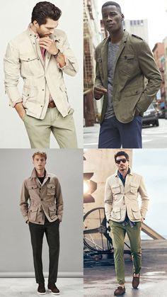 Men's Go-To Summer Looks - Field/Safari Jackets Outfit Inspiration Lookbook