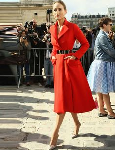 Fashion Week Micro Trend: 50 Shades of Red