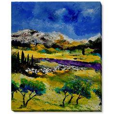 ArtistBe Pol Ledent 'Provence 452121' Fine Art Print
