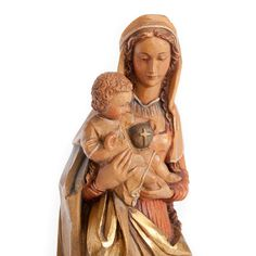 Vintage Italian Madonna and Child Statue from www.fattoamanosf.com