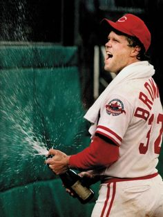 Tom Browning's perfect game ball lost in history. Photo: Tom Browning celebrates his perfect game at Riverfront Stadium on Sept. 16, 1988. Enquirer file photo