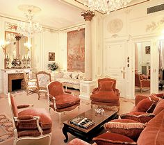 The Prince of Wales Suite at the Ritz Paris