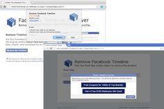 90 000 utilisateurs de Chrome contaminés par des extensions malveillantes de type « Facebook Timeline Remover »