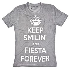 Fiesta Forever Tee Gray, $29.50, now featured on Fab.
