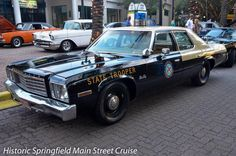 Florida, Florida Highway Patrol 1977 Plymouth Fury Sedan.