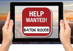 Search for Baton Rouge job opportunities, discover training / CE activities, and download the free Baton Rouge Jobs Mobile App.