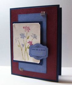 One of a kind friend using Stampin' Up! Close as a Memory
