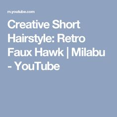 Super Easy Hair Tools For Short Hairstyles Tutorial Milabu Youtube Hairstyle Inspiration Daily Dogsangcom