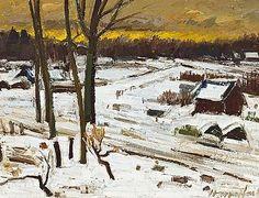 Winterlandscape - Hubert Malfait | Studio 2000