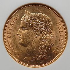 1896 B Switzerland 20 Francs Graded By Ngc Ms 63 Lustrous Collectible – Gold Stream Boutique