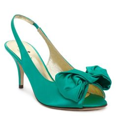 "kate spade   sharlene, says ""emerald green"" but this looks more aqua to me..."