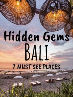 Bali is a congested tourist island, but with these 7 places sure to get your off.Bali is a congested tourist island, but with these 7 places sure to get your off the beaten path and away from the crows. Add these amazing places in Bali to your buc Bali Travel Guide, Asia Travel, Solo Travel, Travel Bag, Disney Travel, Travel To Bali, Travel Goals, Laos Travel, Cambodia Travel