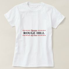 ROUGE HILL - My Home (Pink & Red Hearts) T-Shirt - click/tap to personalize and buy