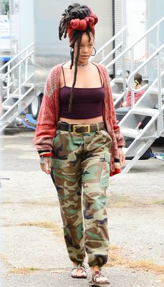 Rihanna's Best Street Style Looks - November 3, 2016 from InStyle.com