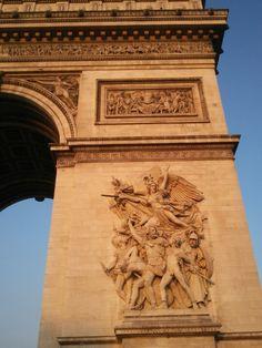"""Sculpture """"La Marseillaise"""". Arc de Triomphe"""