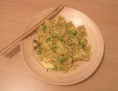 Day 18 - Cauliflower Fried Rice with Maroccan spices.