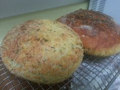 homemade garlic & herb artisan bread!!