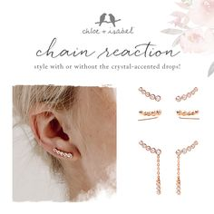 Elevate your earring game with this style-it-your-way set – available now  on my boutique! www.chloeandisabel.com/boutique/amylynn