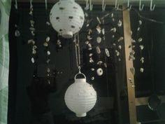 Lanterns, shell hanging garlands