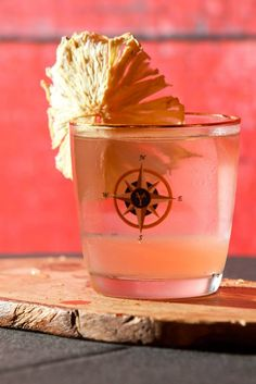 The Lost Days 2 oz Letherbee Gin (Vernal 2015) 1 oz Lillet Blanc 3 dashes Angostura Orange Bitters 2 drops Saline Solution 1 dash Angostura Aromatic Bitters Garnish: Orange Peel (discarded), Dehydrated Pineapple Flowers