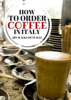 How to Drink Coffee. Like An Italian Enjoy coffee in Italy like an Italian—know the difference between an espresso and a caffe americano, figure out when you should pay at a cafe, and never order a cappuccino after a meal! Italy Travel Tips, Rome Travel, Travel Info, Travel Ideas, Travel Guide, Italy Coffee, Italian Cafe, Coffee World, Best Of Italy