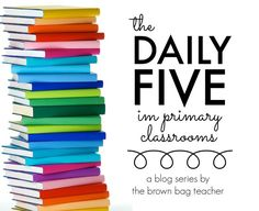 HUGE collection of blog posts all about The Daily 5 in Primary Classroom. Lots of pictures and freebies! (The Brown Bag Teacher)