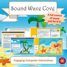 Explore Sound Wave Cove and discover the science behind sound using this three-week unit! (Or purchase my Sound Wave Cove and Light Wave Point Combo Pack to SAVE!)Three weeks worth of lesson plans are aligned to the first-grade Next Generation Science Standards for sound waves and are appropriate for K-3.