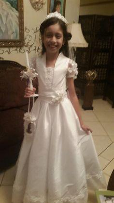 Vestido de Primera Comunion.Carlota de Lovo