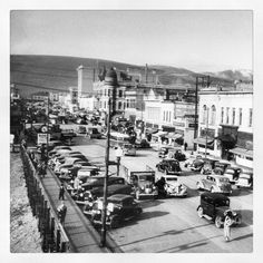 Another great old shot of downtown Missoula Montana around the same time period my Grandfather - my hero - was reaching his peak.
