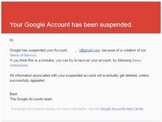 2 Cara Mengembalikan Akun Google Yang Terkena Suspended