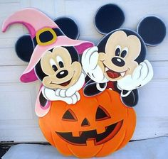Mickey and Minnie Mouse Halloween 36 in